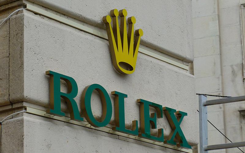 litere 3D Rolex
