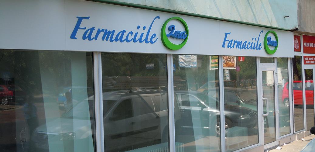 firma led farmaciile 2na