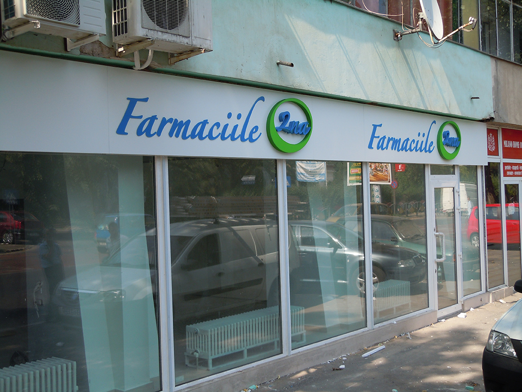 firma led farmaciile 2na