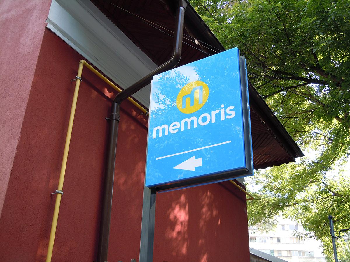 Caseta Memoris Plexiglas Colorat