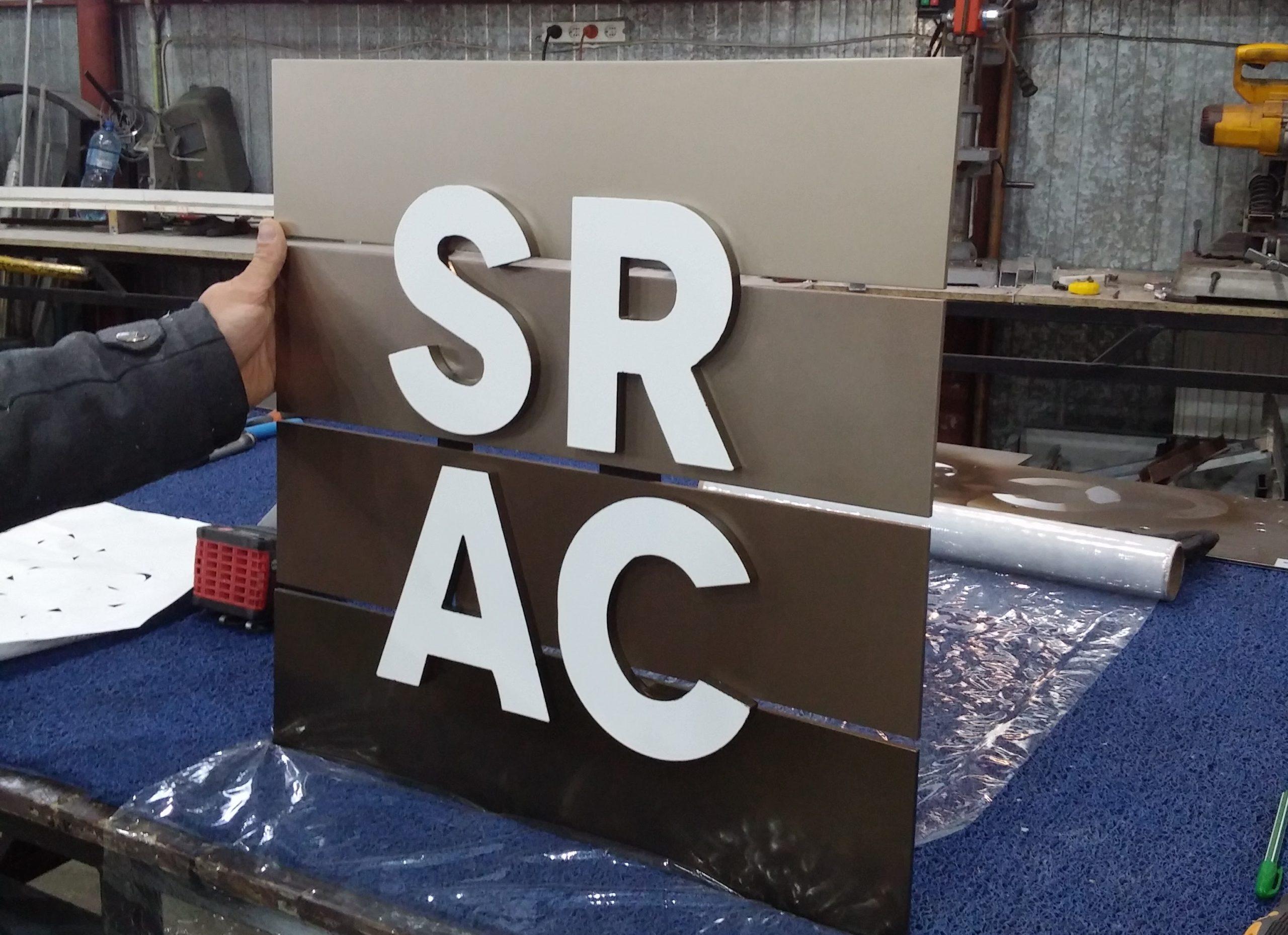 litere fier SRAC