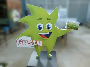 Gusty by Sodexo mascota