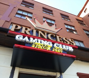litere volumetrice LED princess gaming club