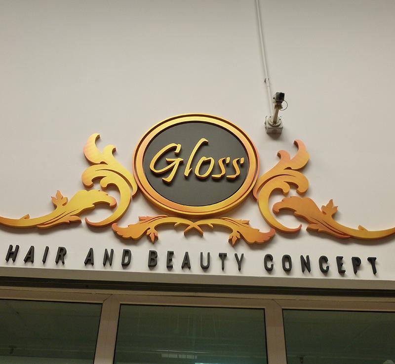 logo polistiren Gloss